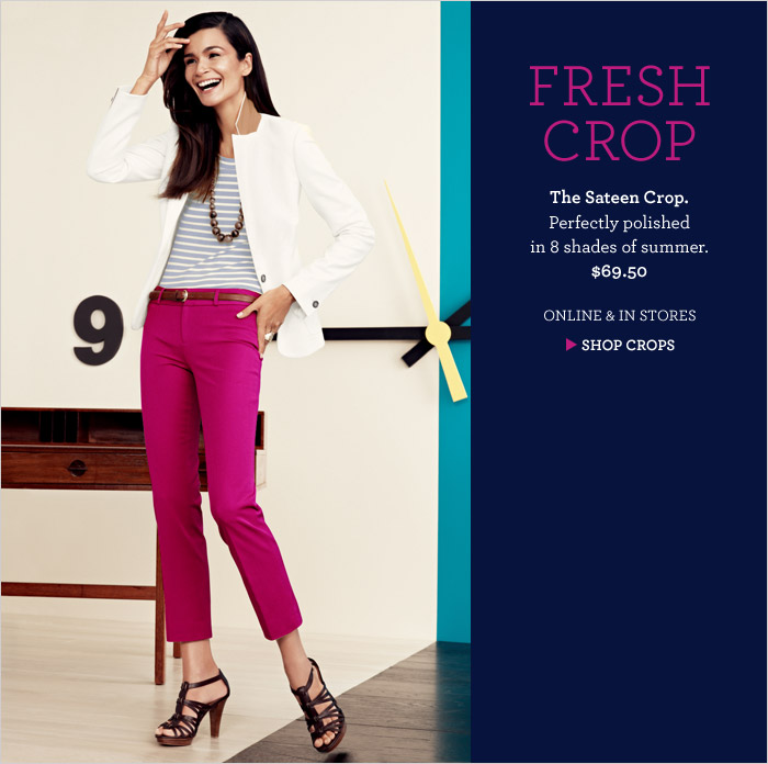 FRESH CROP | SHOP CROPS