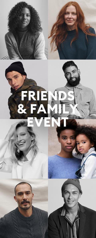 SEPTEMBER 17-22 | FRIENDS & FAMILY EVENT